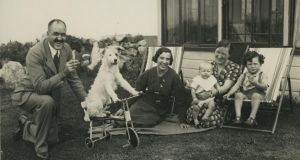 Frank Aiken with his family