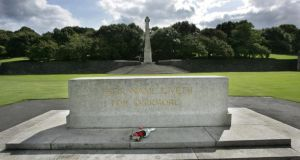 The war memorial at Islandbridge in Dublin. Photograph:  Matt Kavanagh
