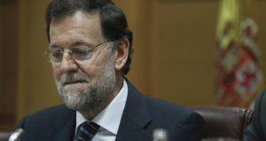 In December, the conservative Popular Party  of prime minister Mariano Rajoy unveiled the first version of the Abortion Bill. Photograph: Andrea Comas/Reuters
