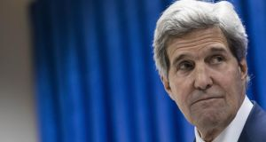 "US secretary of state John Kerry  says the crisis is ""a moment of decision for Iraq's leaders and . . . a moment of great urgency"". Photograph: Brendan Smialowski/AP Photo"