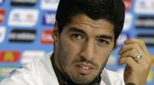 Luis Suarez takes another nibble at the English media
