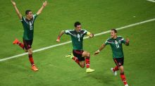 Mexico keep Latin American fiesta  in full flight as Croatia bow out