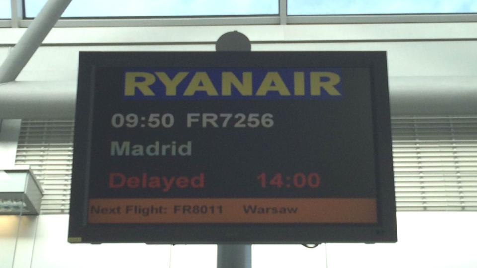 Ryanair cancels flights due to French strike