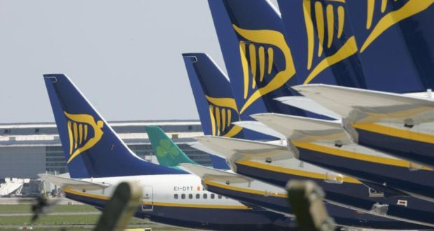 Irish flights cancelled due to French air strike