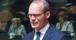 "Minister for Agriculture Simon Coveney: ""A joint venture between the two companies will manage their common business activities in biomass, wind energy, shared services, and recreation and tourism."" Photograph:  EPA/Nicolas Bouvy"