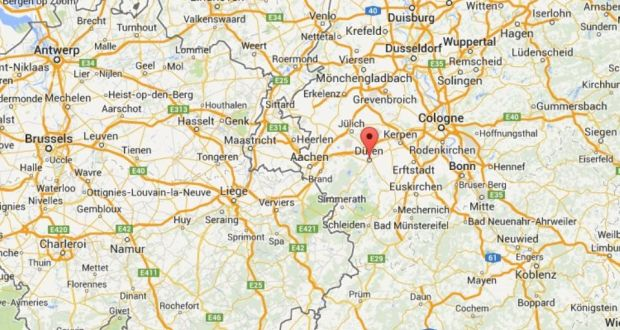 Irish Man Dies On German Road After Stabbing Incidents - Germany map google