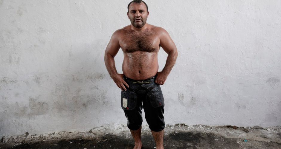Oil wrestling fest in Turkey