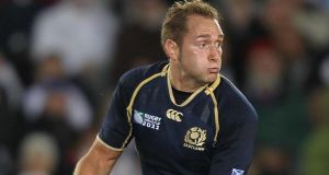 Former Scotland fly-half Dan Parks has announced his retirement from rugby. Photograph: David Davies/PA Wire.