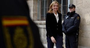 Princess Cristina, the sister of Spain's newly installed King Felipe VI, has been formally named as a suspect in a corruption investigation