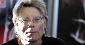 Stephen King: steeped in thriller lore. Photograph: Kenzo Tribouillard/AFP/Getty