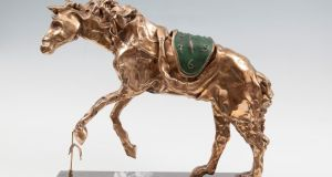 Bronze sculpture (from an edition of 350) of Le Cheval a la Montre Molle (horse saddled with time) by Salvador Dali sold for €19,000 (€11,000-€15,000) at Adam's