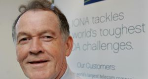 Kevin Melia at an Iona AGM in 2007. Photograph: Matt Kavanagh