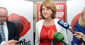 "'Joan Burton, the hot favourite to take over as the new Labour Party leader, couldn't resist describing those who favoured a €2 billion adjustment as ""austerity hawks"". The use of this trite phrase plays straight into the hands of the Opposition and undermines Labour's own considerable achievement in Government.' Photograph: Eric Luke / The Irish Times"