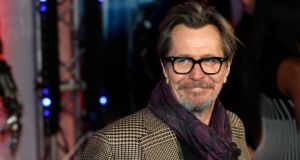 'Gary Oldman's point is that were he to use those words about Mrs Pelosi then he would get in trouble, whereas liberals such as Mr Maher or Mr Stewart would, under similar entirely hypothetical circumstances, be given a free pass. '   Photograph: Suzanne Plunkett/Reuters