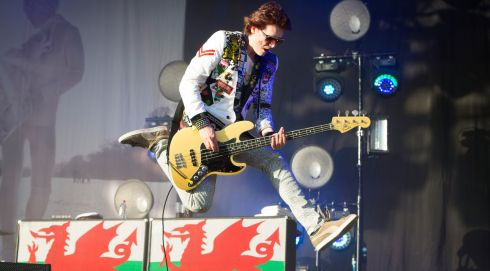 Nicky Wire of the Manic Street Preachers. Photograph: Matt Crossick/PA Wire