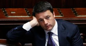 Italian prime minister Matteo Renzi: many of his countrymen remain unconvinced.  Photograph: Reuters/Remo Casilli