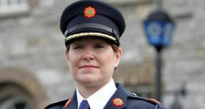 Acting Garda Commissioner Nóirín O'Sullivan welcomed reductions in burglary, damage to property and public order offences recorded. Photograph: Cyril Byrne/The Irish Times