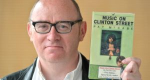 Donald Clarke with Music on Clinton Street: 'It's an underrated novel that engages with many obsessions found in McCabe's later work.' Photograph: Alan Betson
