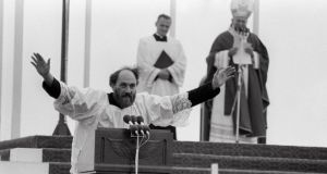 Fr Michael Cleary during the Papal visit to Ireland in 1979
