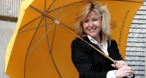 Rosaleen Blair, the Irish-born founder of Alexander Mann Solutions and winner of the 2007 Veuve Clicquot Business woman award, said Northern Ireland was an ideal location. Photograph: Hugo Philpott/PA Wire.