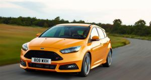 Ford's new Focus ST: For the first time ST customers will now have the choice of two engines, a petrol and a diesel engine.