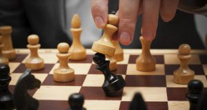 It is possible to achieve checkmate in a well-known five-step manoeuvre, but also using a much less familiar three-move sequence. Photograph: Thinkstock