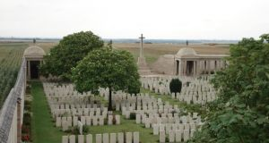 """John Naylor is today remembered on the memorial wall at Loos, where his name is listed with thousands of other war dead. He is presumed buried somewhere near the battlefield, the exact location of the grave now unknown. Until two years ago, the whereabouts Margaret Naylor's grave was a mystery too, at least to some of her family."""