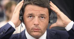 Italy's Prime Minister Matteo Renzi. Italy's wants greater flexibility on EU debt rules. Photograph: Olivier Hoslet/EPA