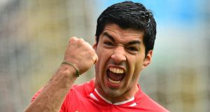 Luis Suarez: has been keen on a move to top Spanish side for a considerable time. Photograph: Owen Humphreys/PA.