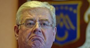 Eamon Gilmore: US Senate Bill will provide path to legislation for undocumented Irish. Photograph: Eric Luke