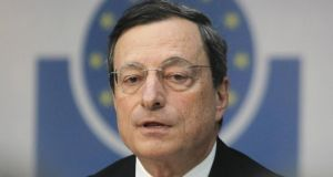 Mario Draghi has said the ECB would consider quantitative easing if necessary