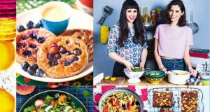 Jasmine and Melissa Hemsley, caterers to  the stars and authors of Hemsley + Hemsley The Art of Eating Well