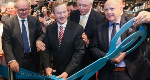 Taoiseach Enda Kenny opens a new Primark store in Berlin this morning.  The opening of Primark in Alexanderplatz has had a substantial local economic impact with the creation of more than 800 new jobs, bringing the total number of people employed by Primark in Germany to over 6,100.