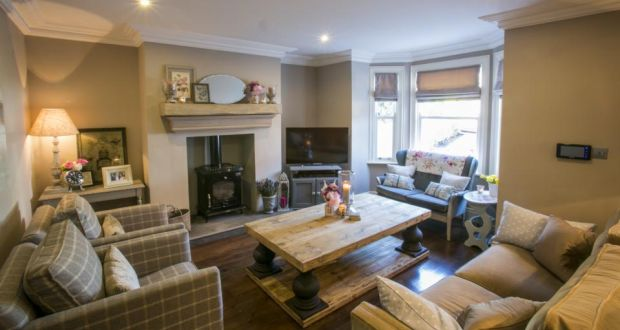 Beautiful The Cosy Sitting Room Features A Woodburning Stove And A Second Hand 1950s  Sofa Keep It Calm With Cool Interiors. Awesome Home Interiors Ireland ...