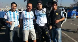 Gang of Four: on the road again in support of Argentina at the World Cup tournament in Brazil
