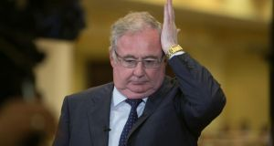Pat Rabbitte, Minister for Communications, Energy & Natural Resources, but for how much longer?