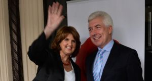 Minister of State Alex White has congratulated Joan Burton on becoming the next leader of the Labour Party. Photograph: Dara Mac Dónaill / The Irish Times.