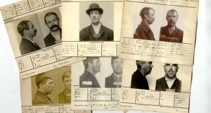 A collection of early 20th-century mugshots of Irish emigrants in America sold for €540