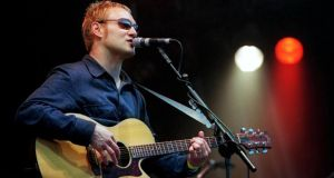 Singer David Gray continues his return to the Irish stage at the Groove Festival in Bray, Co Wicklow. Photograph: Bryan O'Brien/The Irish Times