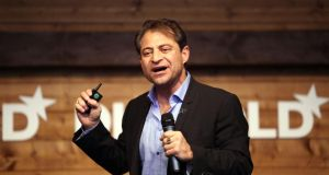 "Peter Diamandis, chairman and chief executive of the X Prize Foundation: ""Most CEOs today are focused on quarterly returns . . . They are unaware of [what is coming down the track] which will be massively disruptive"". Photograph: Nadine Rupp/Getty Images"