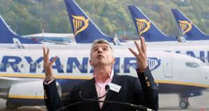 Industry sources say Michael O'Leary has signalled that he intends to continue as Ryanair gears up for further expansion. Photograph: Colin Keegan/Collins