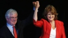 Joan Burton has been elected as the 11th leader of the Labour Party following a landslide victory in her leadership contest with Alex White. Video: Fiach Kelly