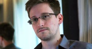 Former NSA contractor Edward Snowden provided the cache of intercepted conversations to the Washington Post. Photograph: Glenn Greenwald/Laura Poitras/Reuters