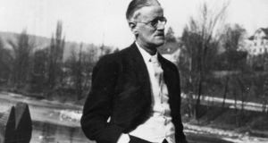 James Joyce: Some of his documents were donated to the foundation by the late Hans Jahnke, the son of Giorgio's second wife, Dr Asta Jahnke-Osterwalder, in 2006. Photograph: Getty