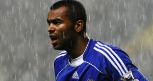 Ashley Cole has joined Roma on a free transfer. Photograph: Clive Mason/Getty Images