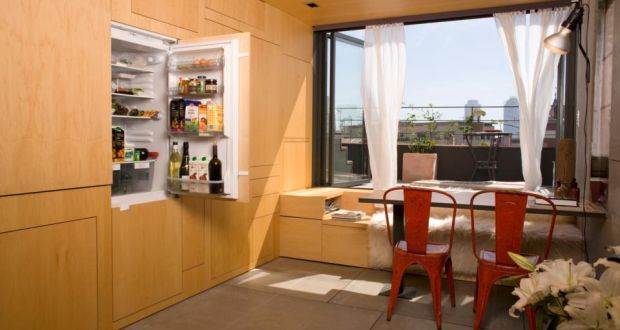 clever ideas for compact living