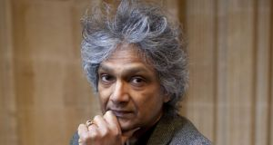"Romesh Gunesekera, above, is ""graced with a poet's vision and an abiding sense of justice"". Photograph: Getty Images"