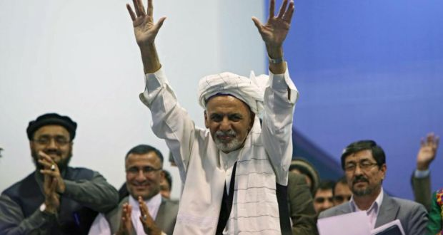 Ghani 'wins' Afghanistan presidential election