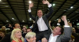 The election of Brian Hayes as an MEP has led to an autumn byelection in Dublin South West.Photograph: Dara Mac Dónaill