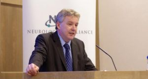 Chris Macey of the Neurological Alliance of Ireland: Cuts have 'been a massive shock'